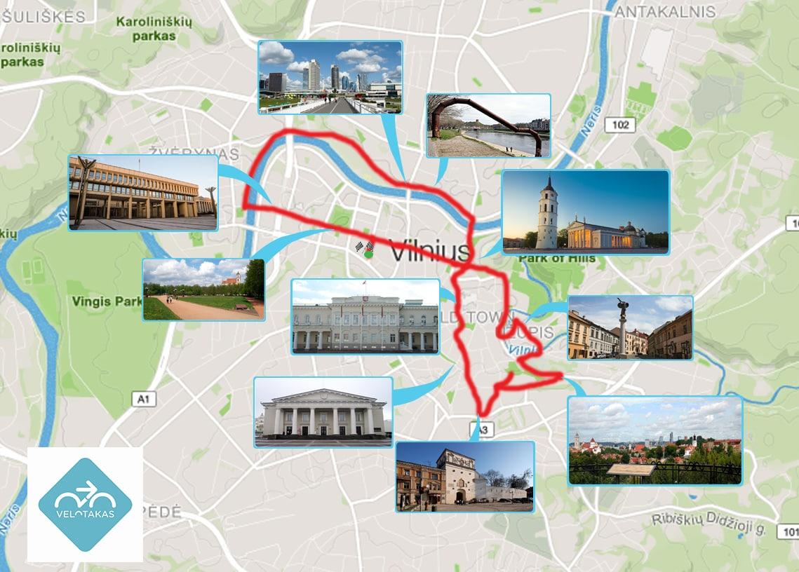 Studietur Vilnius gl og nyt