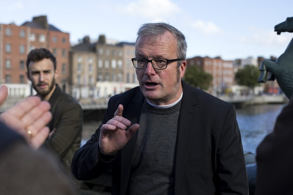 Studietur Dublin Lorcan Collins