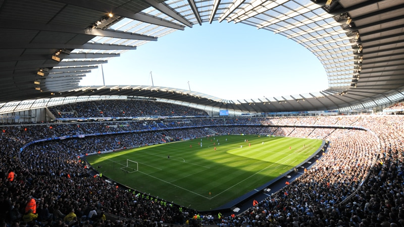 Studietur Manchester City Etihad Stadium
