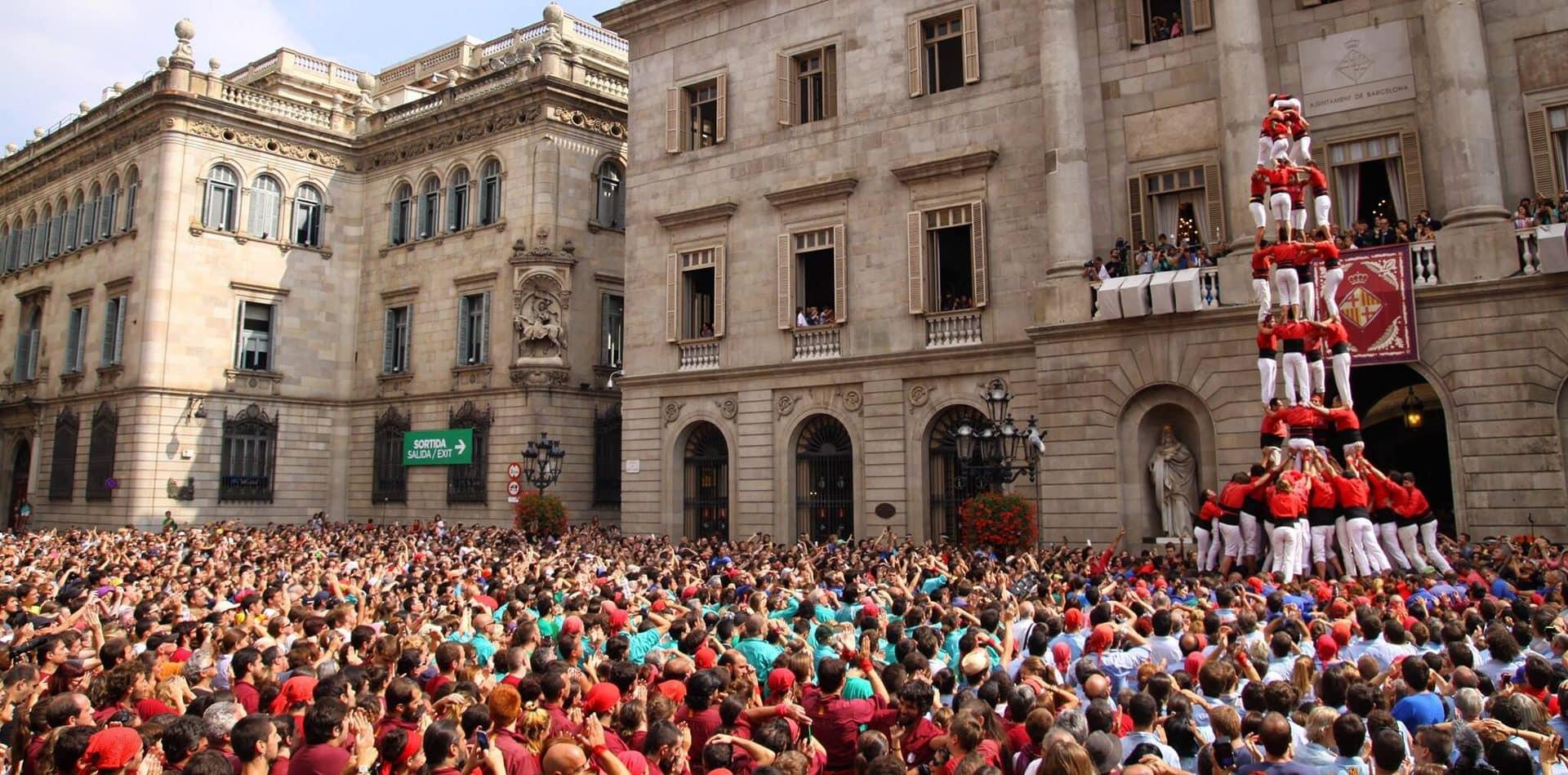 Studietur Barcelona Mennesketårn