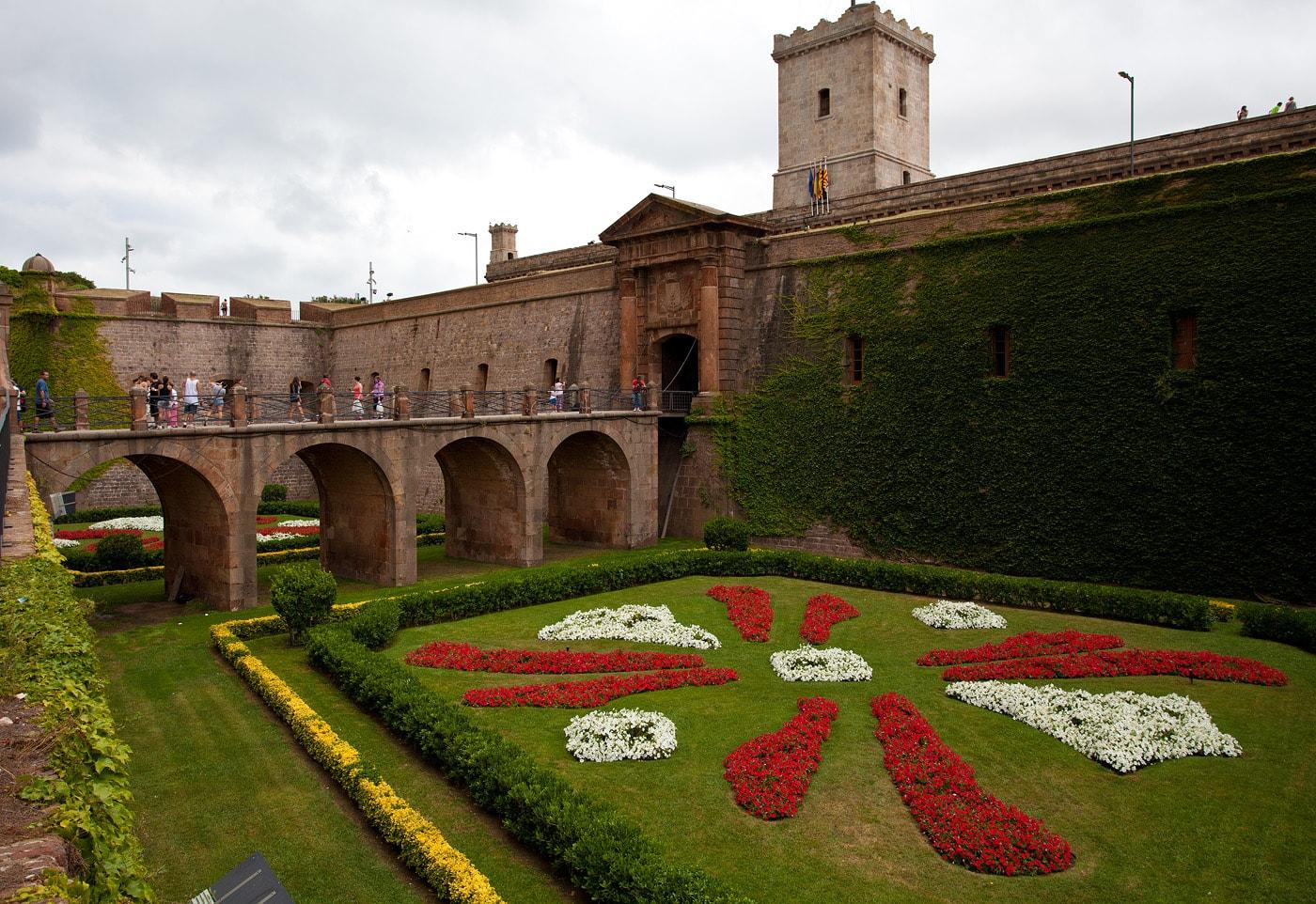 Studietur Barcelona Montjuic Castle