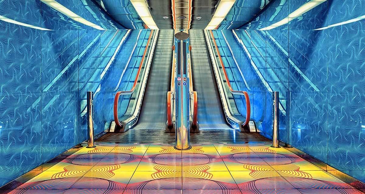 Studietur Napoli Metro art