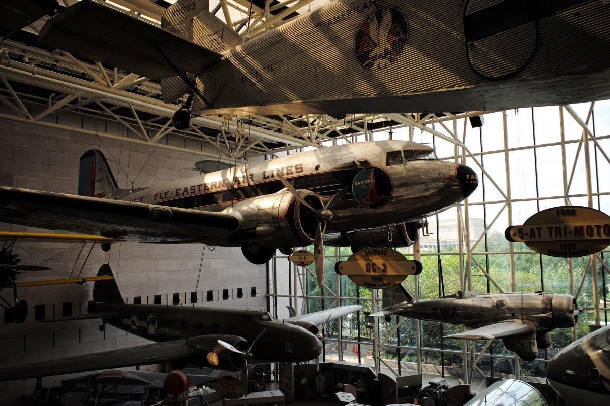 National air and space museum-washington_studierejser_washington