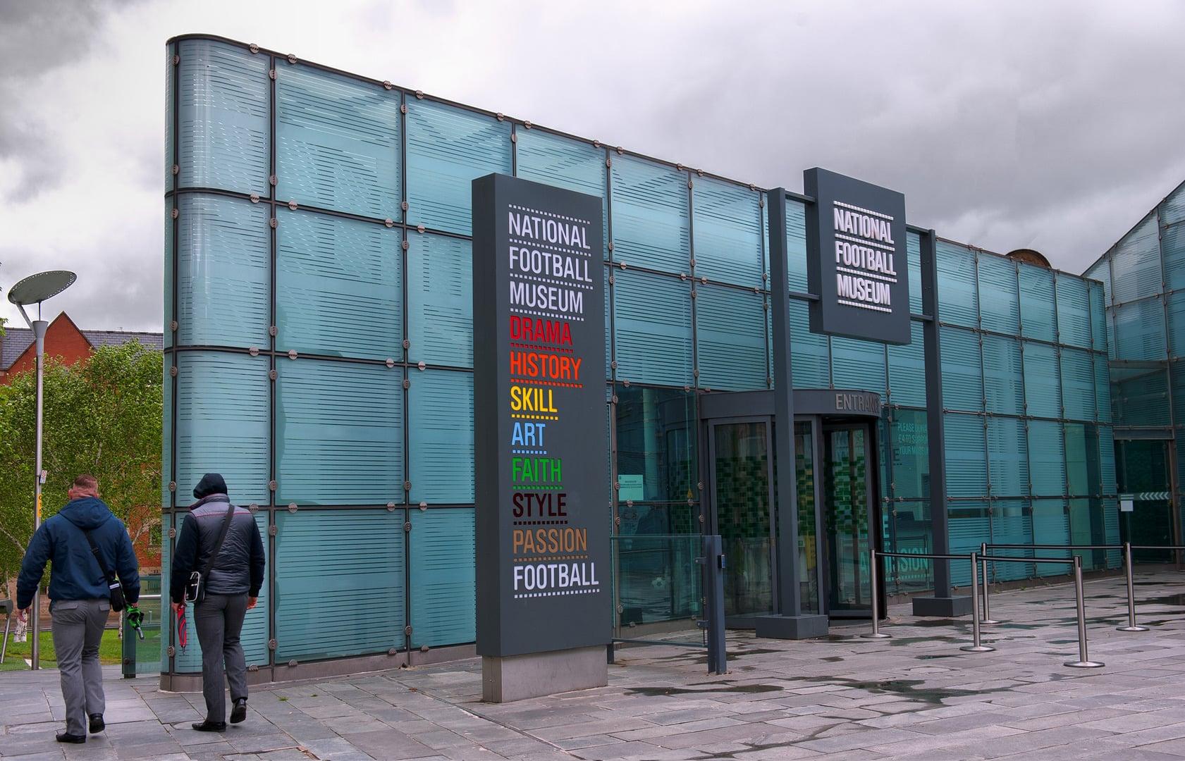 Studietur Manchester National Football Museum