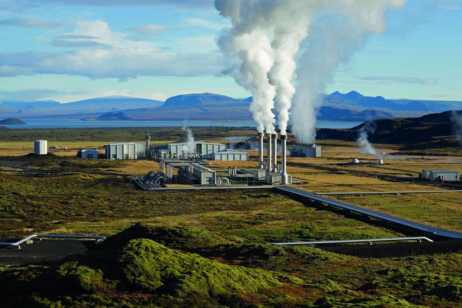 Studietur Reykjavik Island Hellisheidi