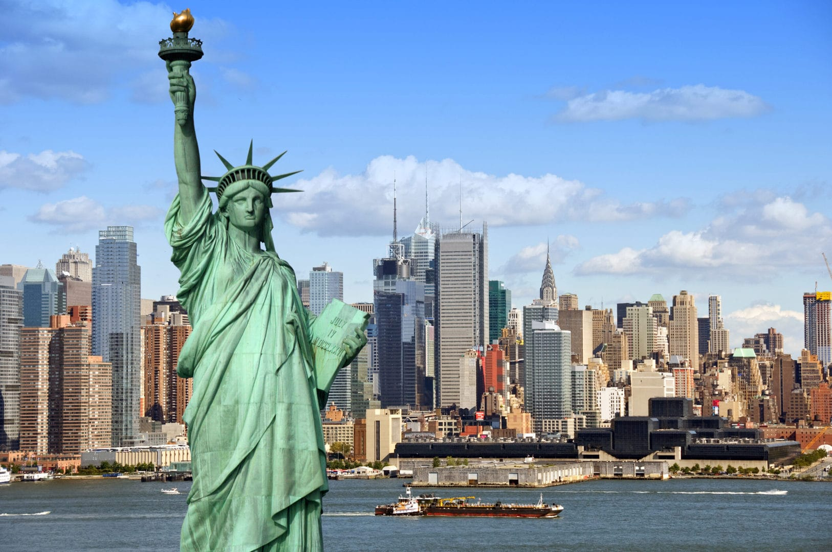 Studietur New York Frihedsgudinden