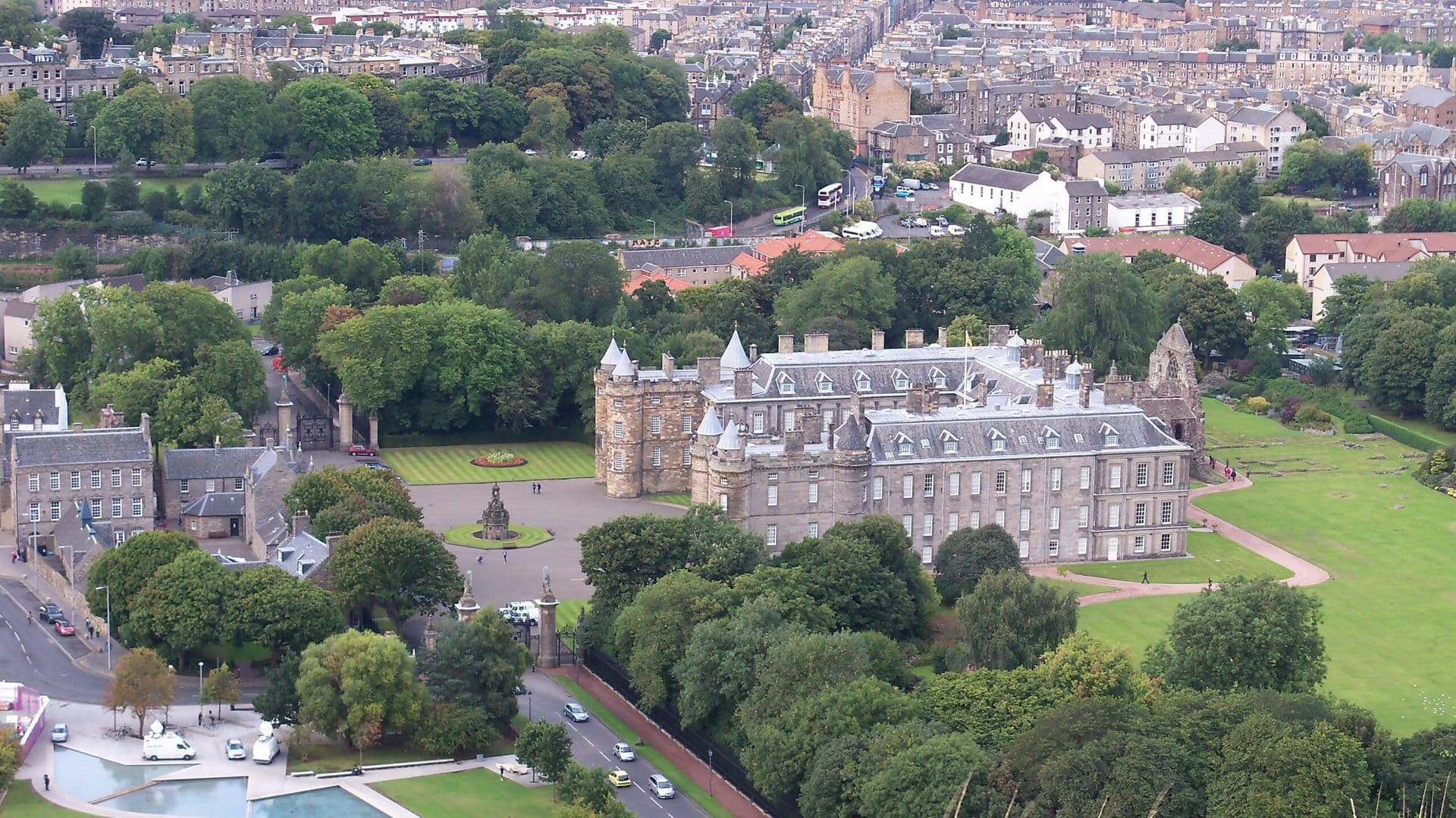 Studietur Edinburgh Palace of Holyroodhouse