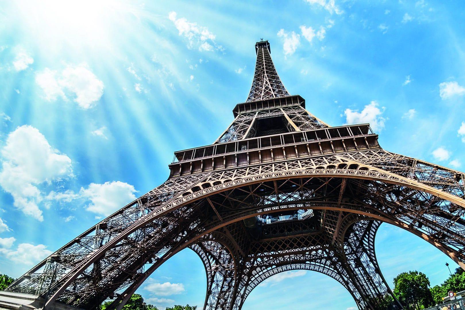 studietur Paris Eiffeltårnet