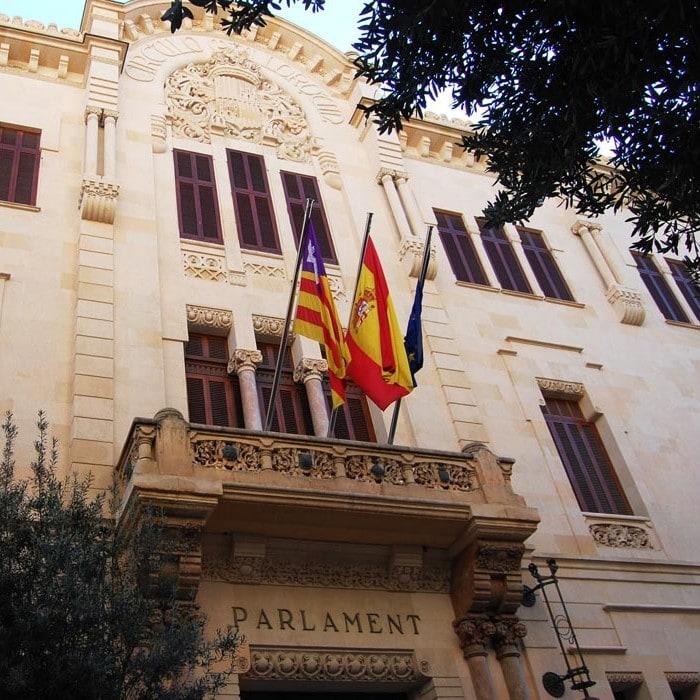 Studietur Mallorca Parlament
