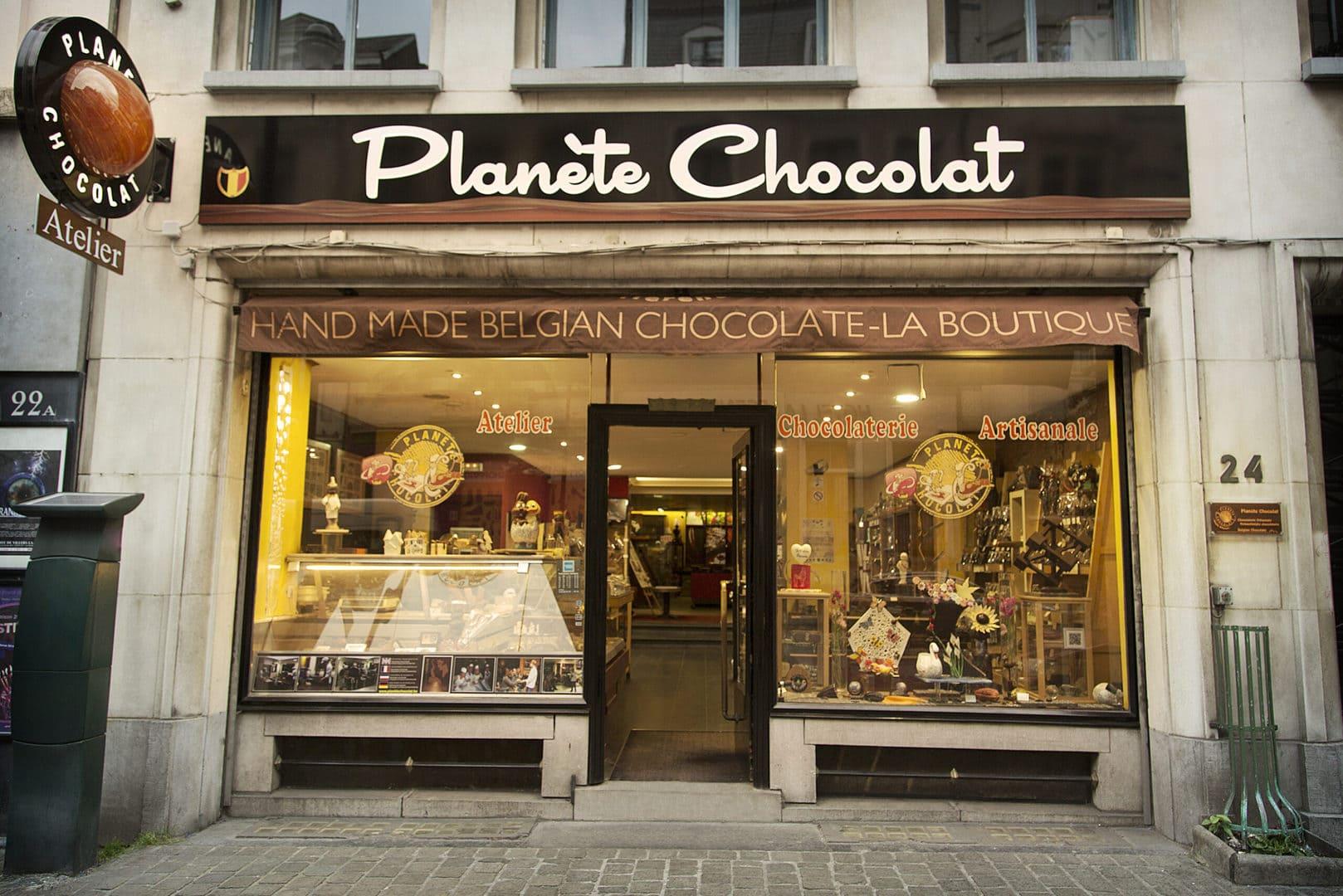 Studietur Bruxelles Planete Chocolat