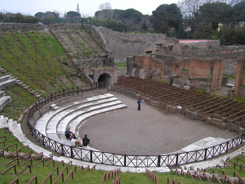 Pompei Vesuv Rom Studieprogram