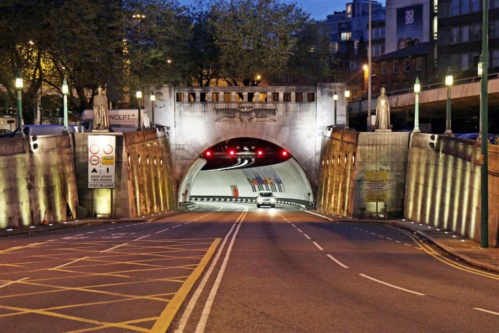 Studietur Liverpool Mersey Tunnel