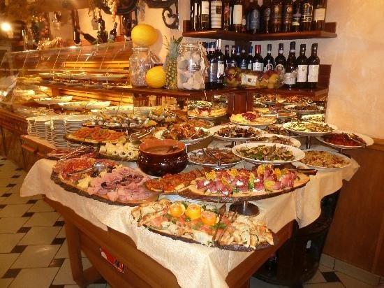 Mad Restaurant Italien Rom Studierejse