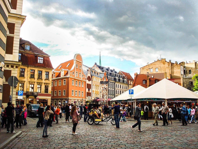Studietur Riga gåtur