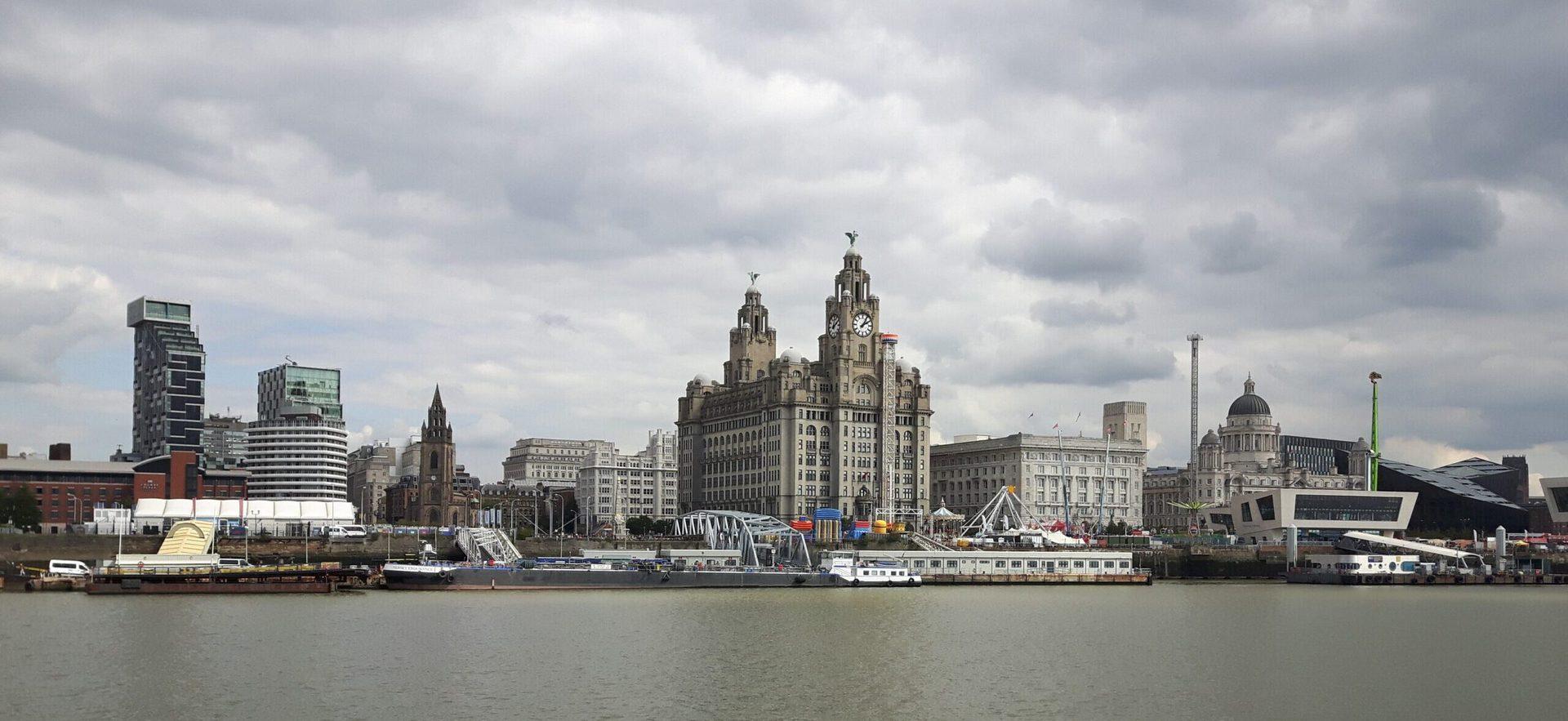 Studietur Liverpool River Mersey