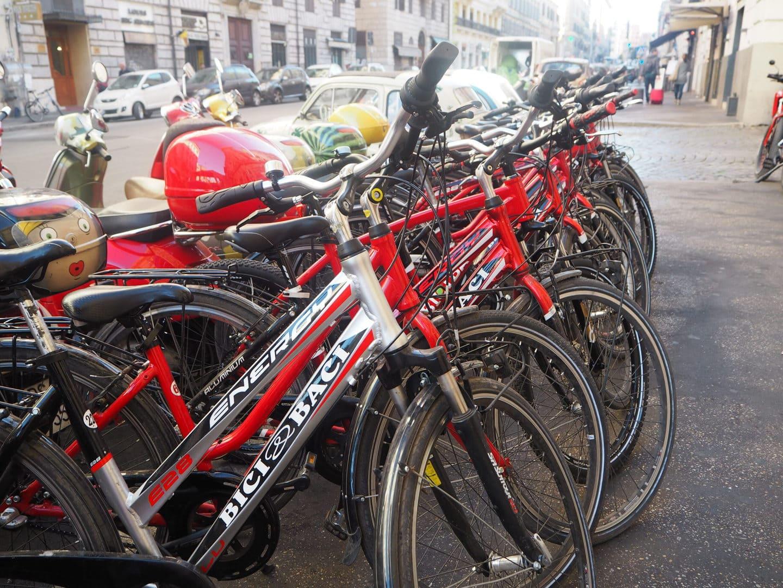 Ancient Appian Way Rom Studierejse Cykel