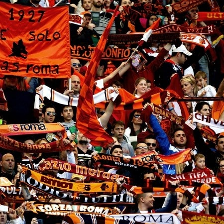 Fodbold Rom Studierejse Roma Lazio