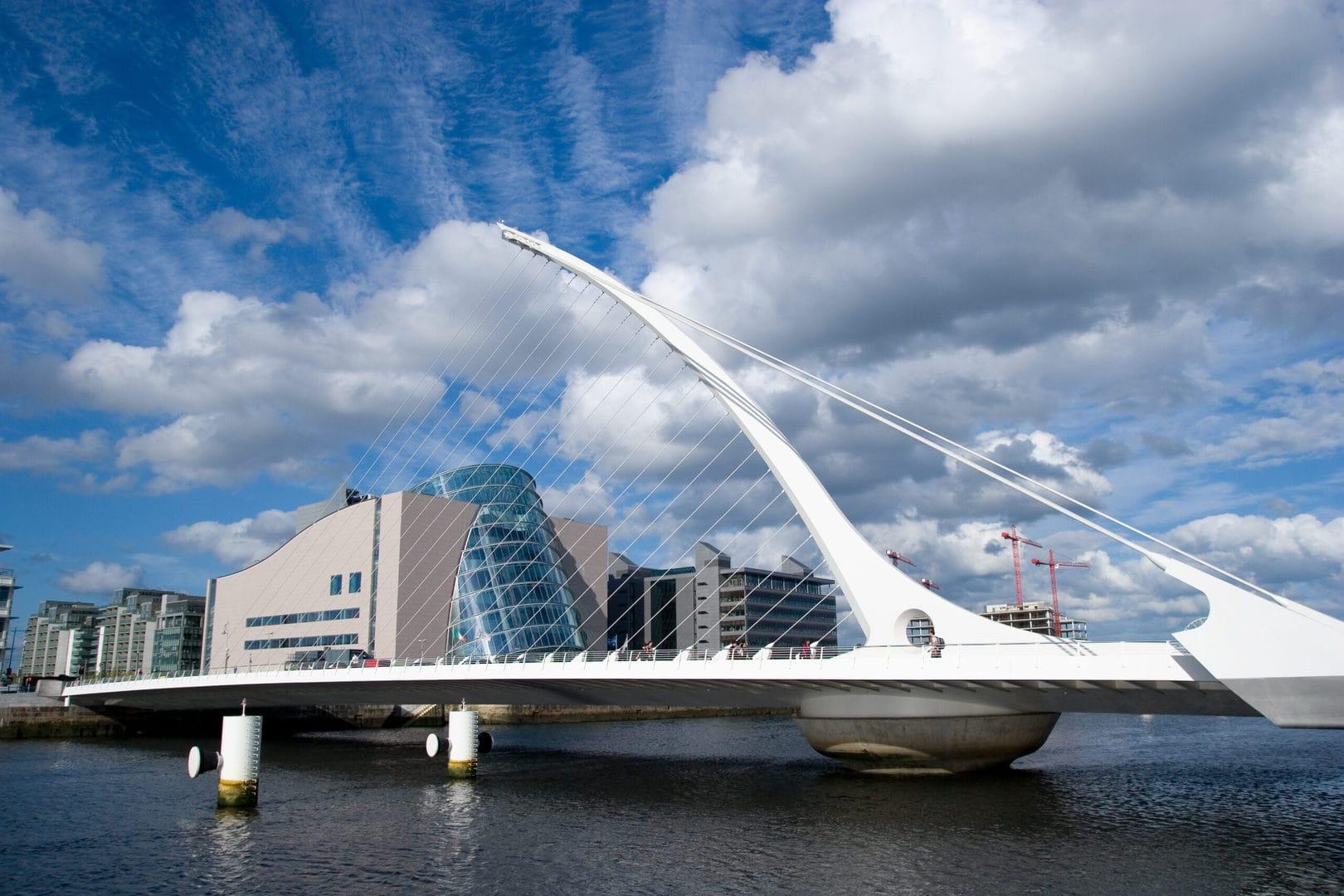 Studietur Dublin Samuel Beckett Bridge