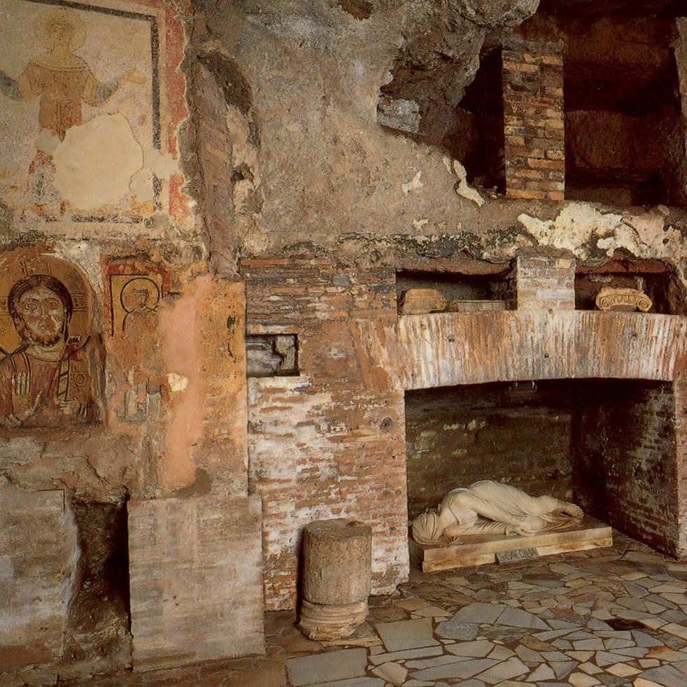 San Callisto Katakomber Rom Studierejse