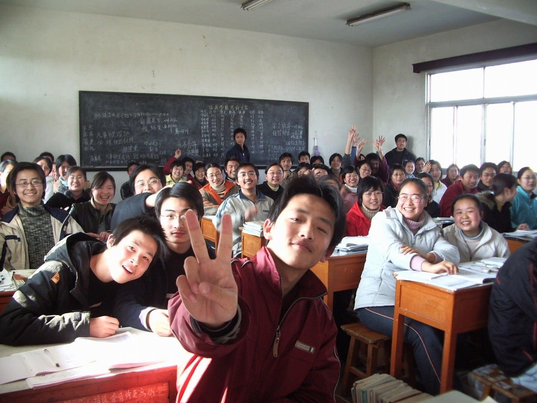 Studietur Shanghai skolebesøg