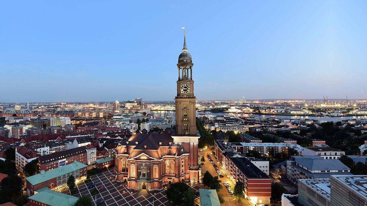 Studietur Hamborg St. Michaelis Kirche