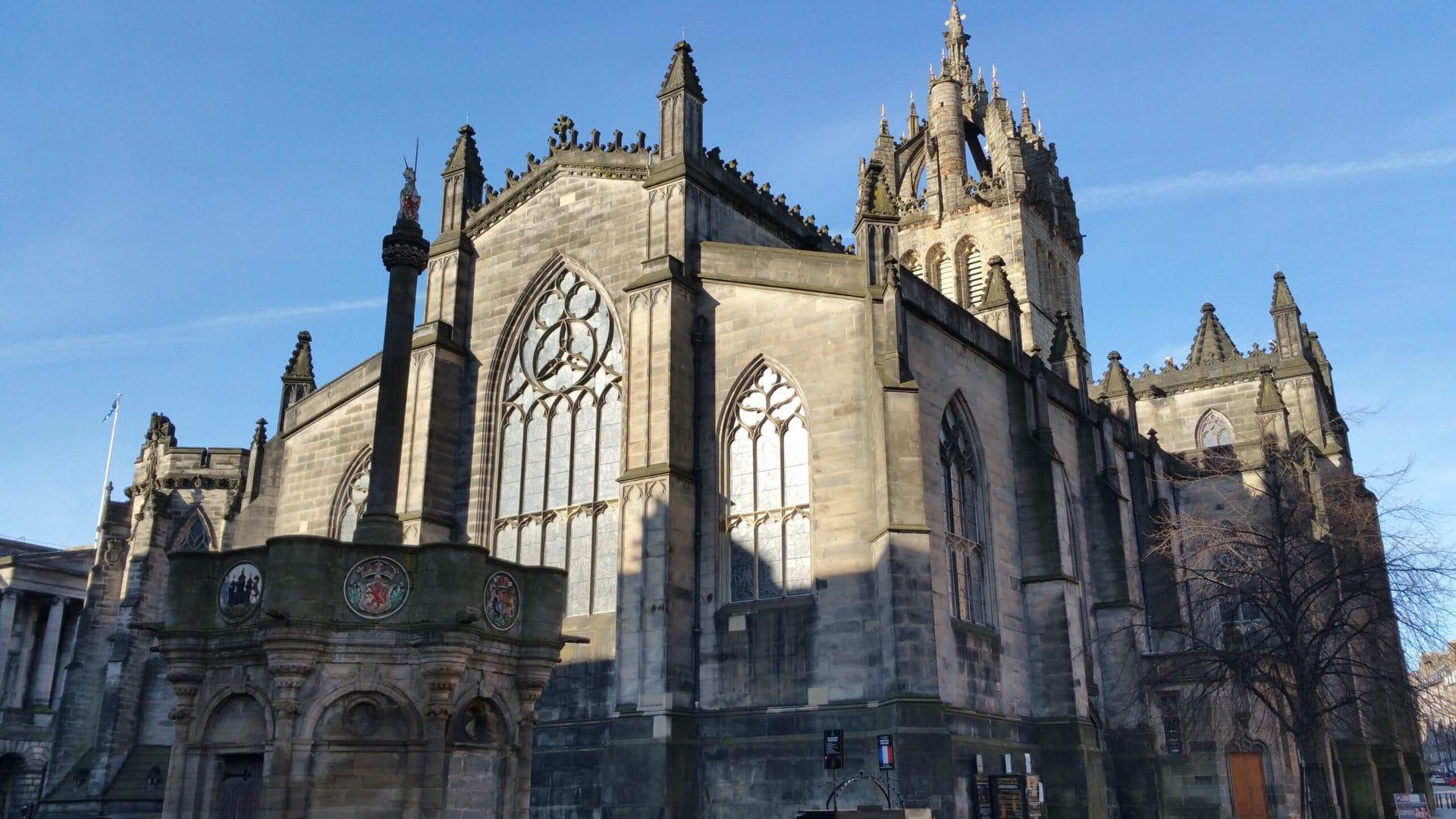 Studietur Edinburgh St Giles Cathedral