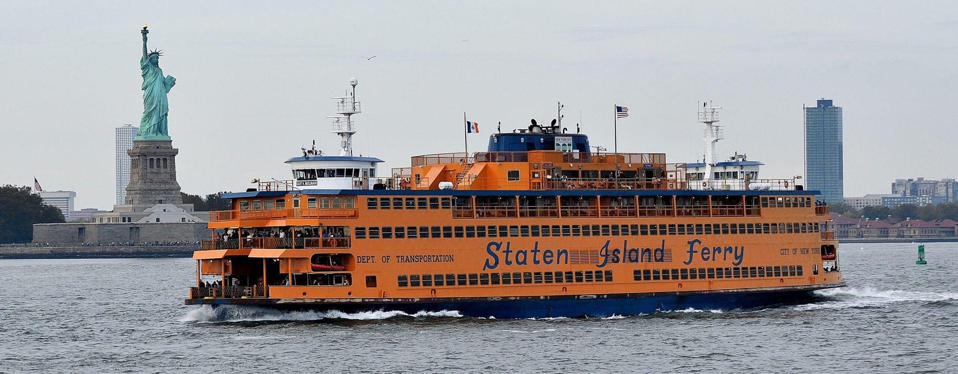 Studietur New York Staten Island Ferry
