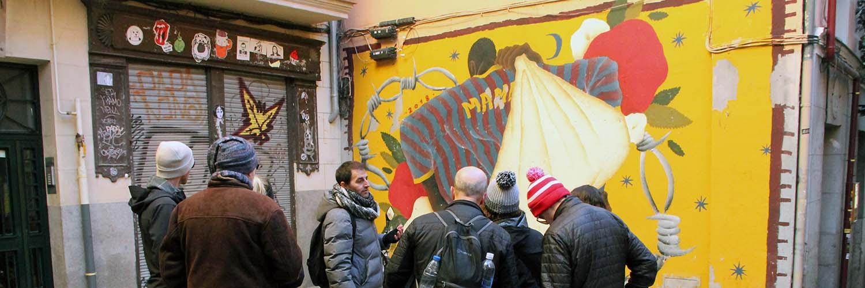 Studietur Madrid Street Art