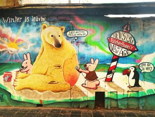 Studietur Valencia Street art
