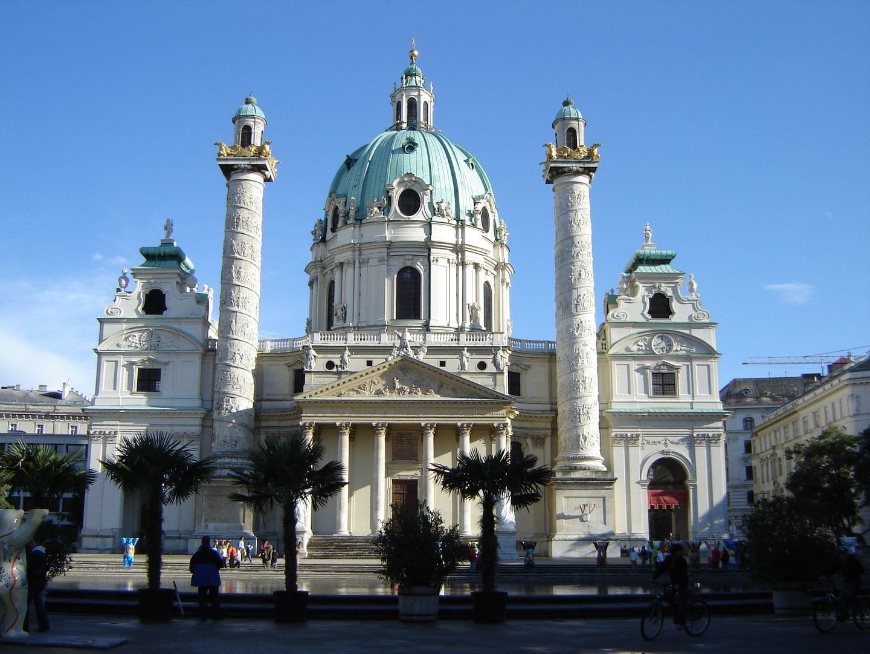 Studietur Wien Karlskirche