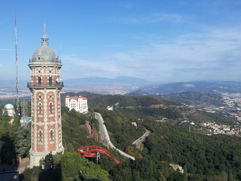 Studietur Barcelona Tibidabo