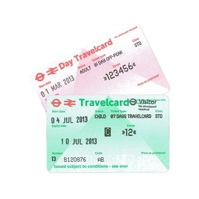 Studietur London Travelcard