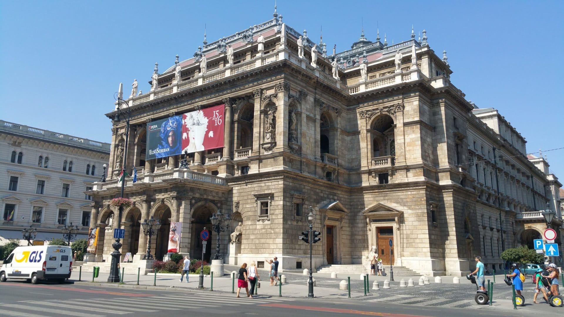 Studietur Budapest Statsopera