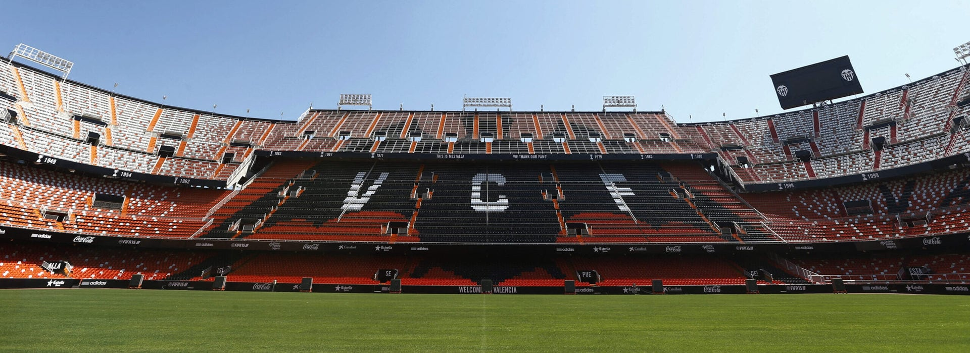 Studietur Valencia stadion