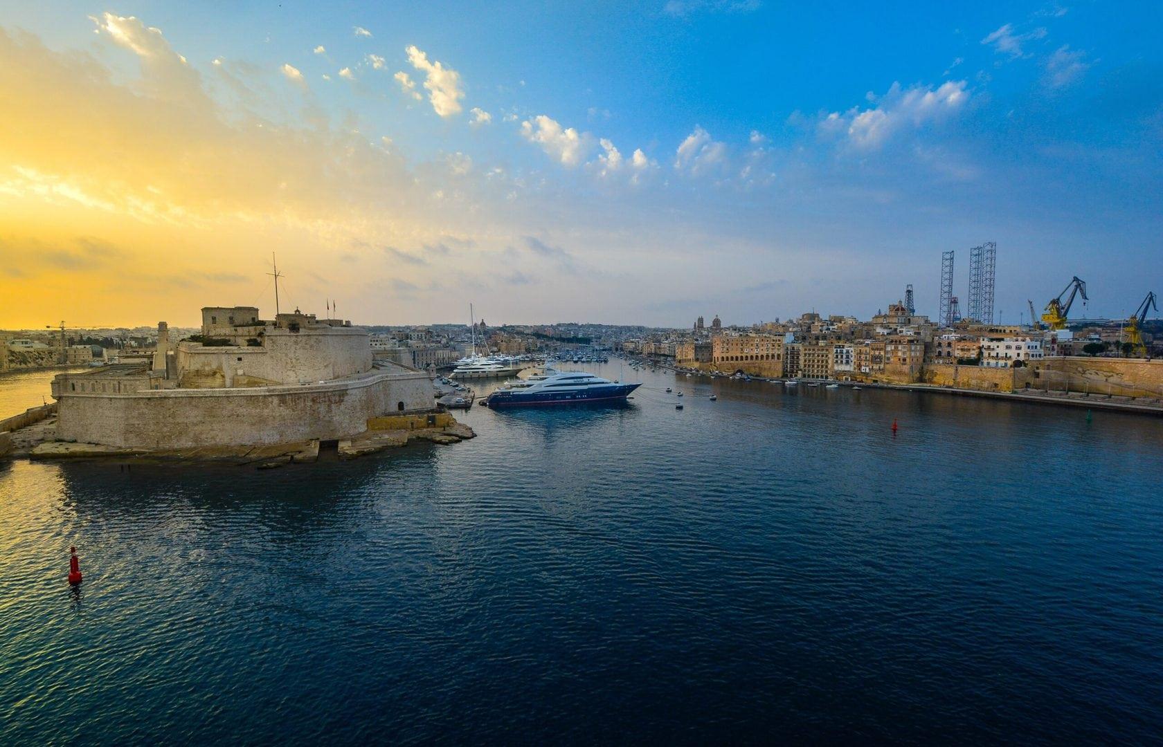 Valletta_Harbour_heldagsudflugt_studierejser_alfatravel