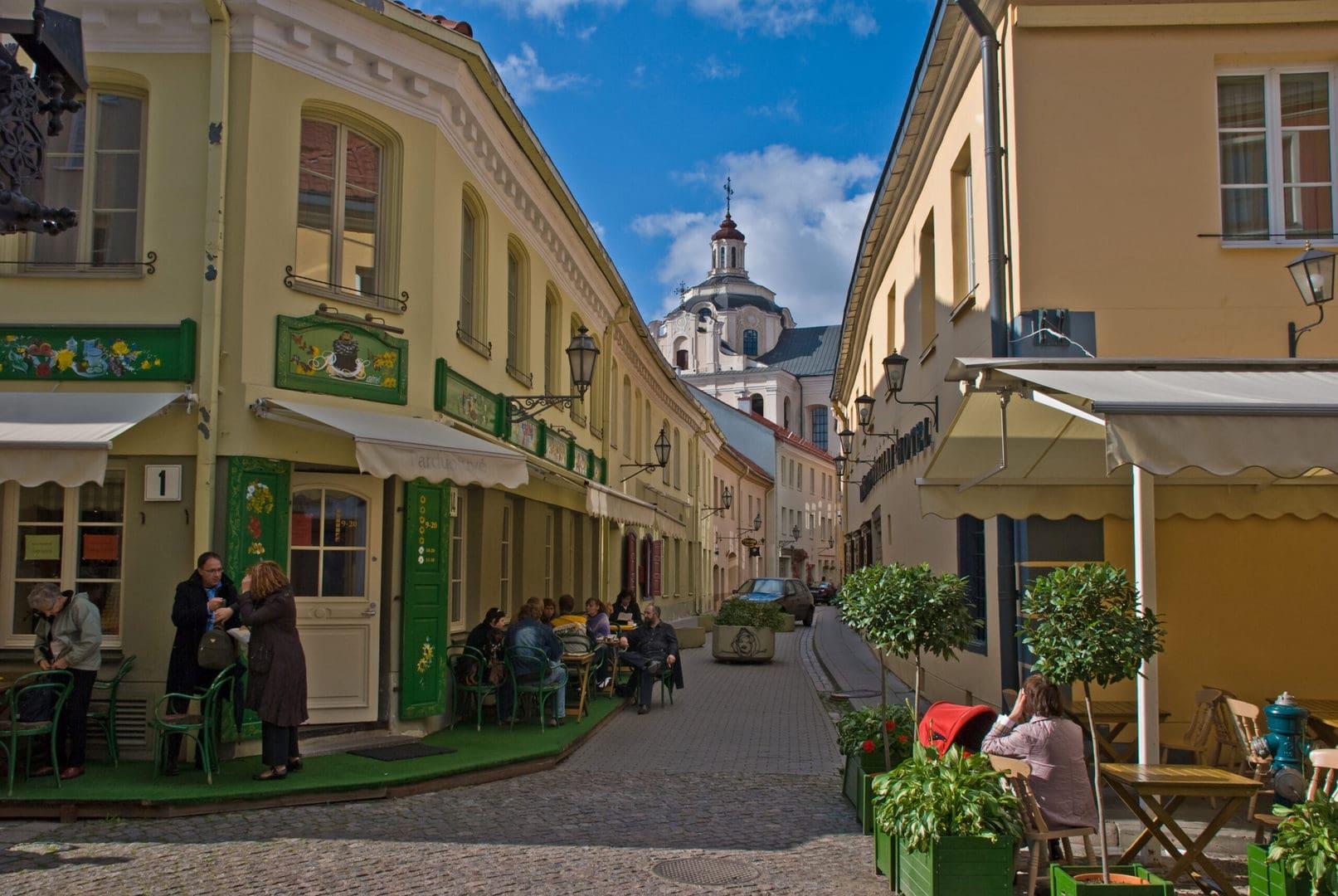 Studietur Vilnius guidet tur