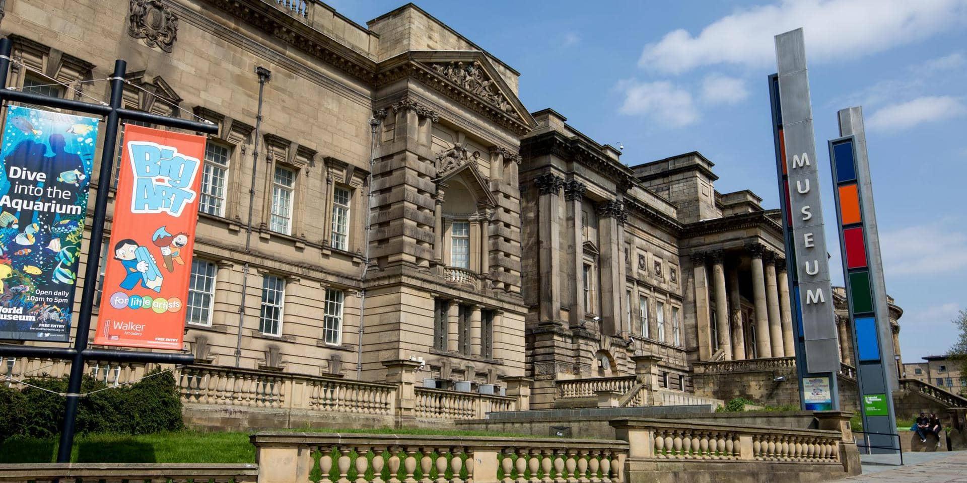 Studietur Liverpool World Museum