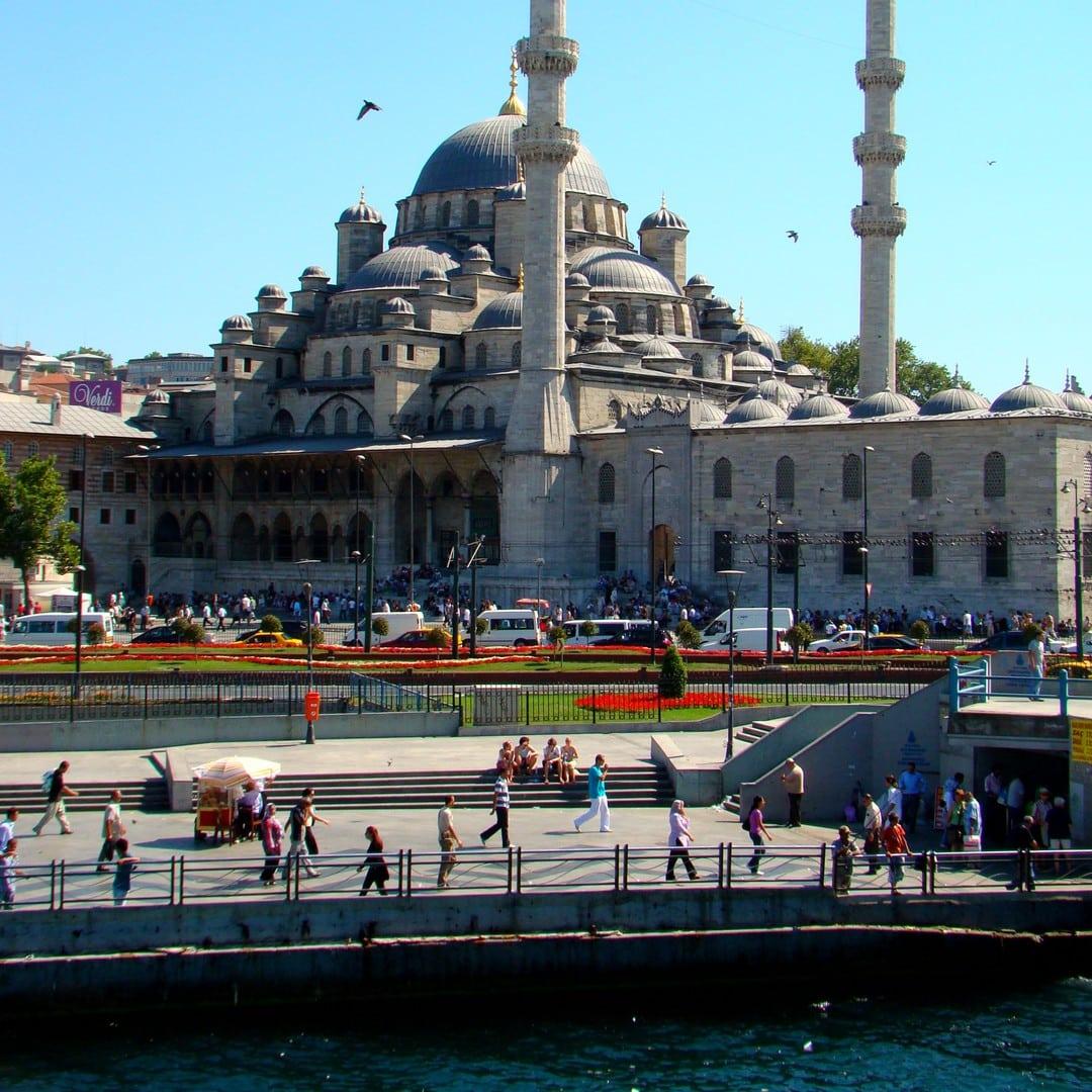 Yeni Cami den nye moske Istanbul