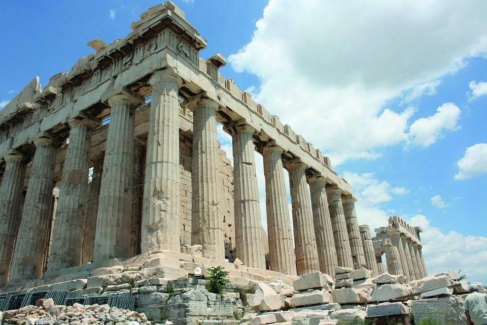 Studietur Athen Akropolis