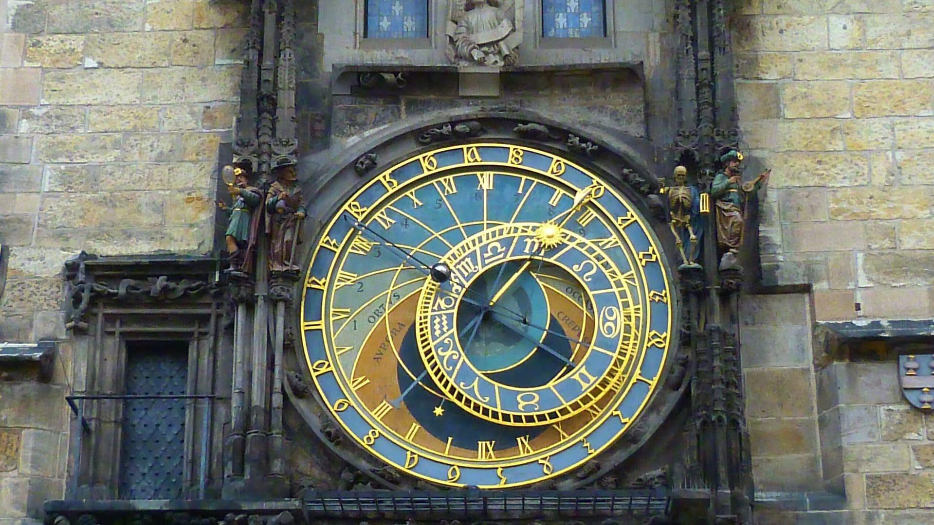 Studietur Prag astronomical clock