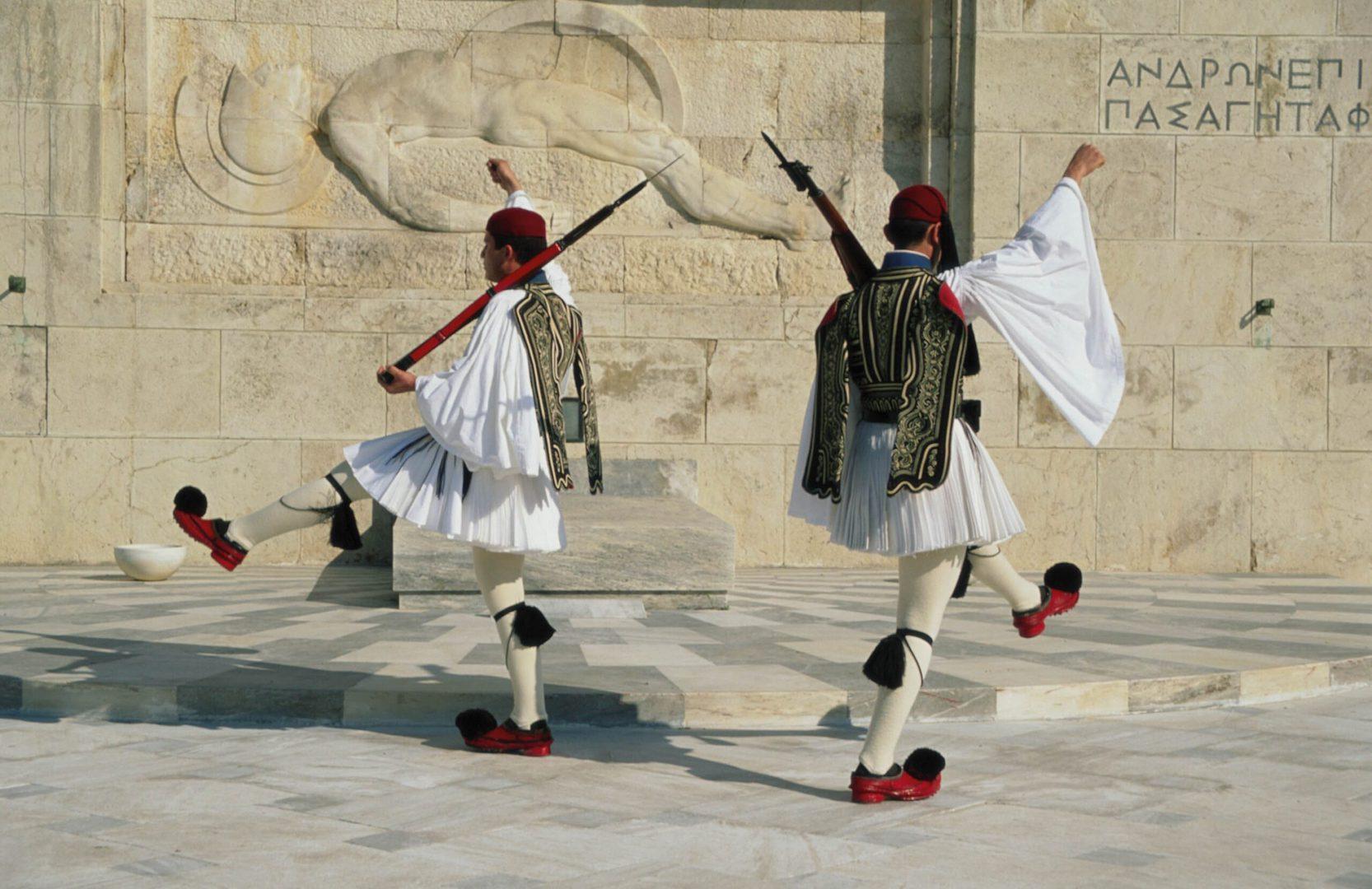 Studietur Athen Vagtskifte Syntágma