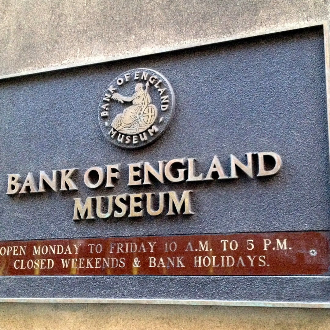 Studietur London Bank of England