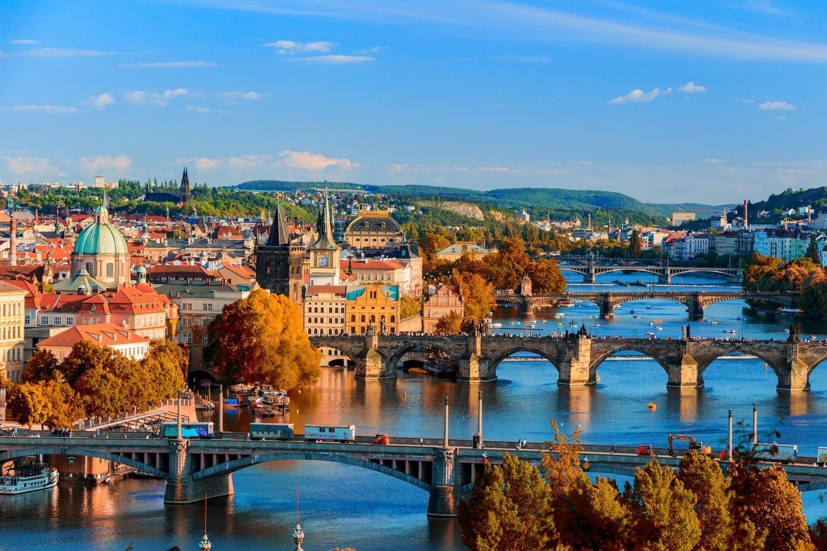Studietur Prag Bridges