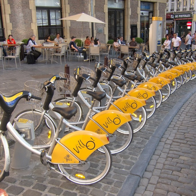 Studietur Bruxelles on Bike