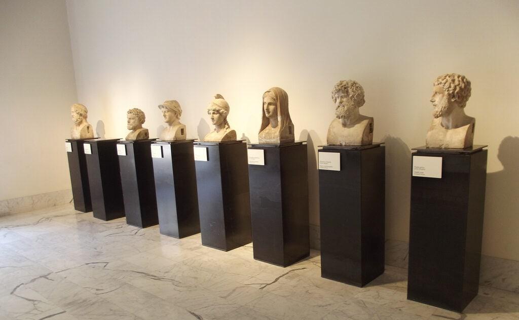 Studietur Napoli Det arkæologiske museum