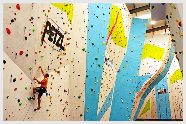 Studietur Dublin Gravity Climbing Centre