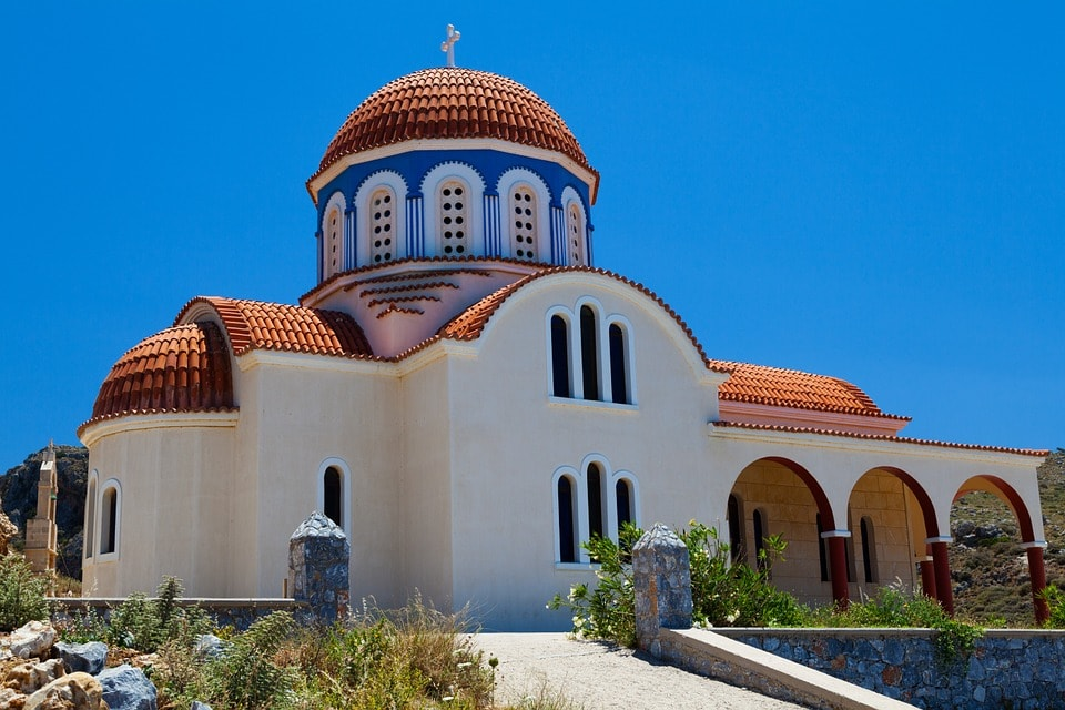 Studietur Athen Graesk Ortodoks Kirke