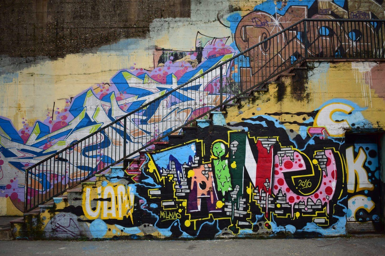 Studietur Paris Graffiti