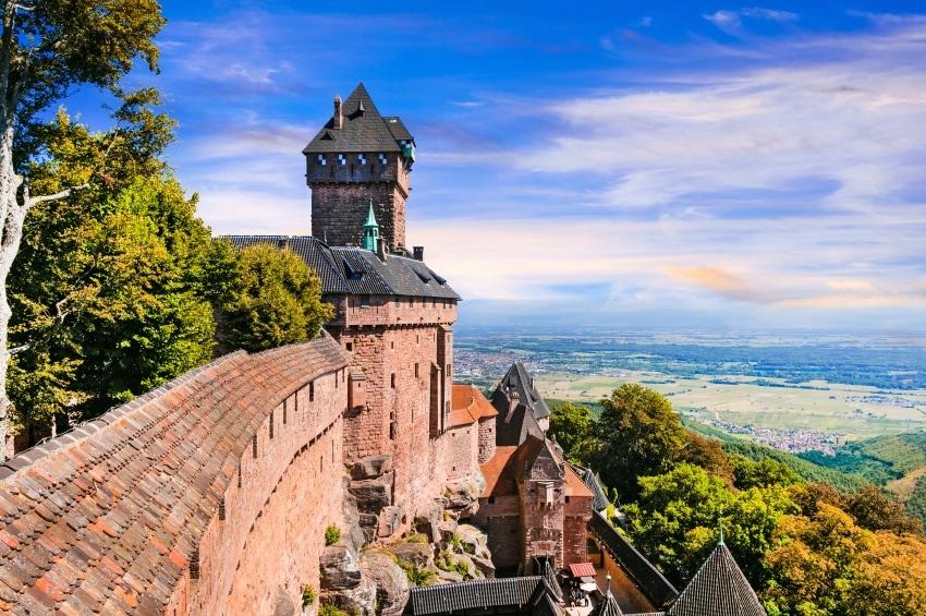 Studietur Strasbourg Castle