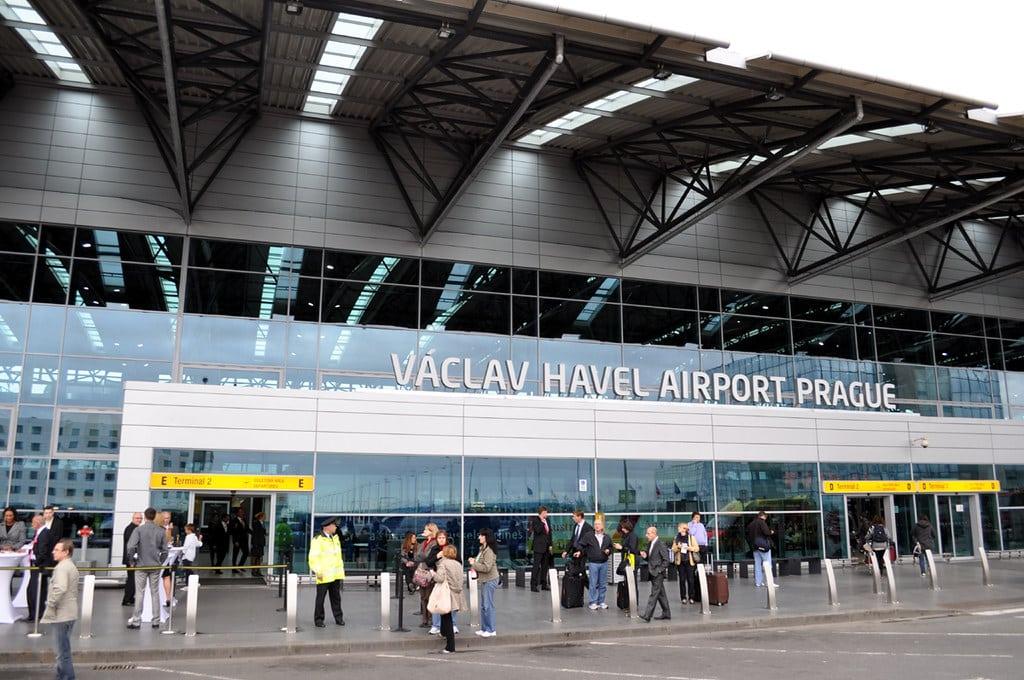 Studietur Prag Vaclav Lufthavn